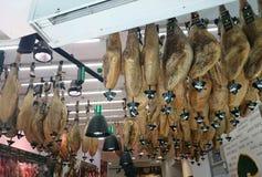 Hamon for sale in store Stock Photo