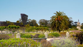 Hamon Watching Tower de Young Museum en Golden Gate Park Foto de archivo libre de regalías