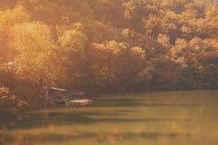 Hamori lake in autumn Stock Images