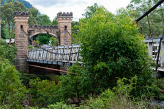 Hampden Bridge, Kangaroo Valley royalty free stock image