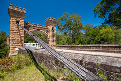 Hampden Bridge, Kangaroo Valley, Australia Stock Photo