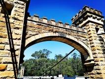 Hampden Bridge @ Kangaroo Valley royalty free stock photo