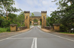 Hampden Bridge Kangaroo Valley Royalty Free Stock Photos