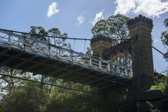 Hampden Bridge Kangaroo Valley stock photography