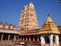 Hampi świątynny kompleks, UNESCO światowego dziedzictwa miejsce w Karnataka, India zdjęcie royalty free