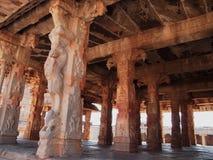 Hampi świątynny kompleks, UNESCO światowego dziedzictwa miejsce w Karnataka, India obrazy royalty free