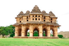 Hampi. Historical Place Lotus Mahal, in Hampi,Karnataka,India Royalty Free Stock Photo