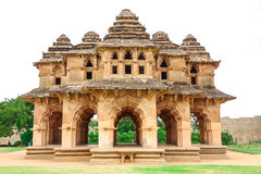 Hampi. Historical Place Lotus Mahal, in Hampi,Karnataka,India royalty free stock photography
