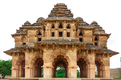 Hampi. Historical Place Lotus Mahal, in Hampi,Karnataka,India Stock Photos