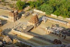 Hampi, India, Ancient Hindu temple Royalty Free Stock Photography