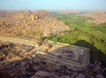 Hampi, India, Ancient Hindu temple Royalty Free Stock Images