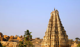 Hampi, India, Ancient Hindu temple Stock Photography
