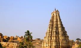 Hampi, India, Ancient Hindu temple Stock Photography