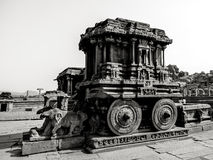 Hampi, India. In black and white. Stock Images