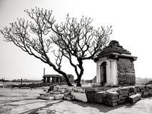 Hampi, India. In black and white. Stock Photos