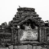 Hampi, India. In black and white. Royalty Free Stock Photos