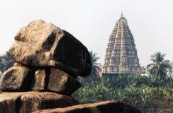 Hampi in Indien Stockbild