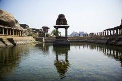 Hampi, Indien, Karnataka lizenzfreie stockbilder