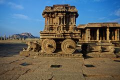 Hampi indisk tempel Royaltyfria Foton