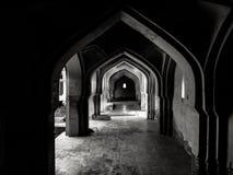 Hampi, la India En blanco y negro fotografía de archivo libre de regalías