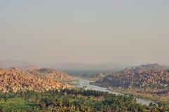 Hampi landscape Stock Image