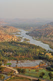 Hampi landscape Royalty Free Stock Photography