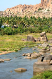 Hampi landscape Royalty Free Stock Photo