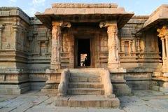 Hampi ruiniert errichtendes Indien stockfotografie