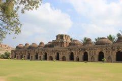 Hampi Ruins Stock Image