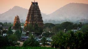 Hampi. Ruins of Hampi, Karnataka, India royalty free stock image