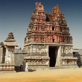 Hampi ruins royalty free stock photo