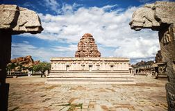 Hampi archeological ruins royalty free stock photography