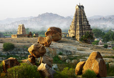 Hampi's landscape Royalty Free Stock Photography