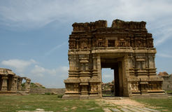 Hampi temples Royalty Free Stock Photo