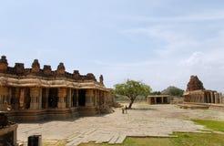 Hampi temples Stock Image