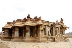 Hampi. Vijaya vittala Temple in Hampi, Karnataka,India royalty free stock image