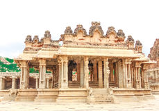 Hampi. Vijaya Vittala Temple Royalty Free Stock Images