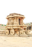 Hampi. Vijaya Vittala Temple,Stone Chariot Royalty Free Stock Photo