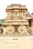 Hampi. Vijaya Vittala Temple,Stone Chariot, Hampi,Karnataka,India royalty free stock image