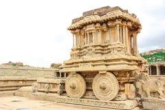 Hampi. Vijaya Vittala Temple,Stone Chariot, Hampi,Karnataka,India stock photography