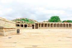 Hampi. Vijaya Vittala Temple,Stone Chariot, Hampi,Karnataka,India royalty free stock images