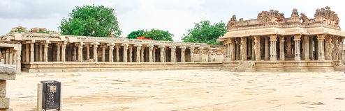 Hampi. Vijaya Vittala Temple,Stone Chariot, Hampi,Karnataka,India Royalty Free Stock Photo
