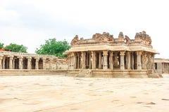 Hampi. Vijaya Vittala Temple,Stone Chariot stock photo