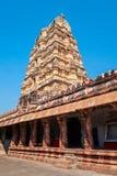 Hampi Vijayanagara Empire monuments, India. The Group of Monuments at Hampi was the centre of the Hindu Vijayanagara Empire in Karnataka state in India royalty free stock photography