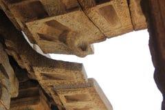 Hampi Vittala Temple ceiling hook Stock Photos