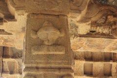 Hampi Vittala Temple lord Vishnu`s Panchajanya shankha conch Stock Images
