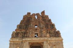 Hampi Vittala Temple Tower Ruin India Stock Photos