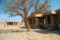 Hampi, Vitthala tempel, India Stock Afbeeldingen