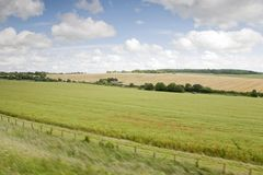 Hampshire Landscape Royalty Free Stock Image