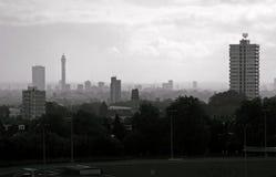 Hampstead荒地,伦敦 图库摄影